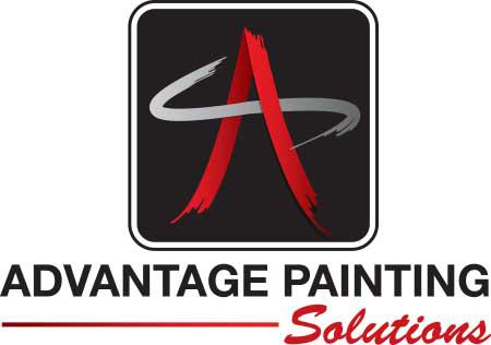 advantage painting logo